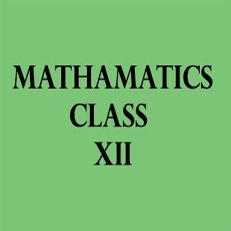 Mathematics Class XII